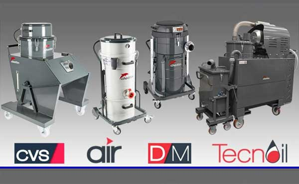 Delfin Industrial Vaccum Cleaner